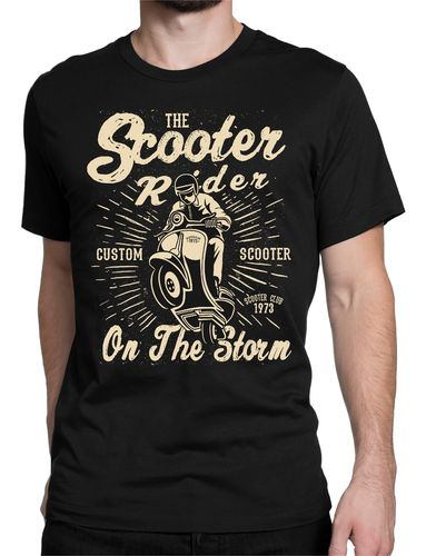 Tee shirt scoot rider,vespa