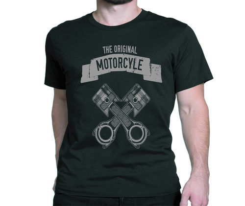 Ty-shirt ,the original Motorcycle ,pistons