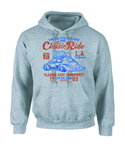 sweat shirt capuche the classic ride cox