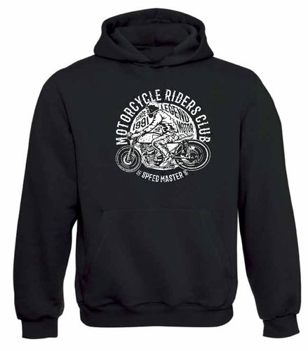 sweat shirt capuche Motorcycle rider club