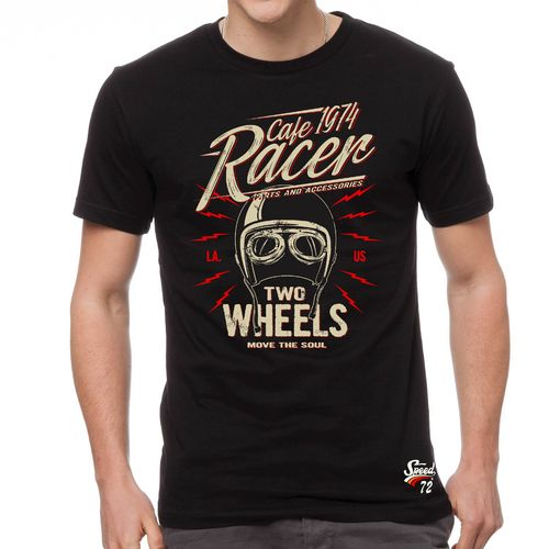 Ty shirt SPEED72 cafe racer two wheels