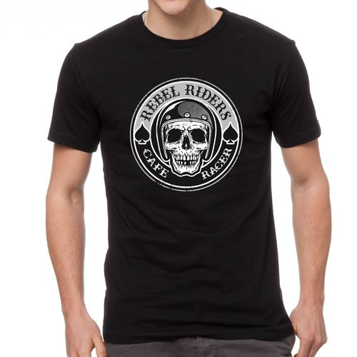 tee shirt Rebel Riders Cafe racer