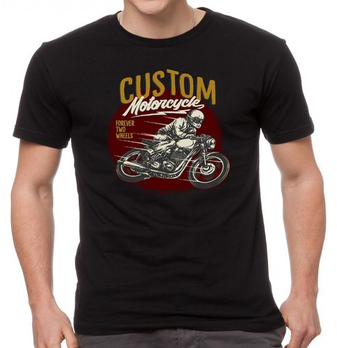 Tee shirt Custom Motorcycle cafe racer